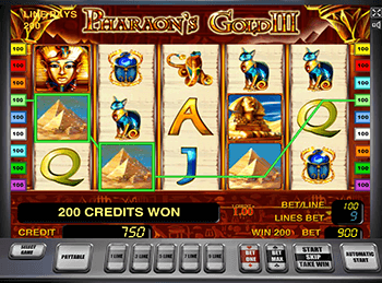 Без смс игра Pharaohs Gold III