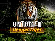 Untamed Bengal Tiger играть онлайн в игровой автомат от Microgaming