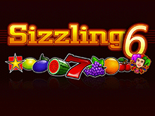 Игровой азартный онлайн-аппарат Sizzling 6