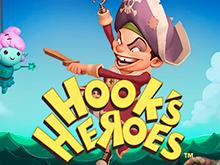 Онлайн аппарат Hook's Heroes от компании NetEnt